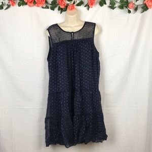 Lucky Brand Flowy Abstract Dress